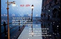 Stt hay về mưa đêm khiến lòng ai bỗng tê tái, hiu quạnh