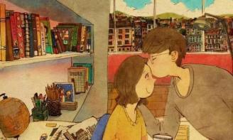 Status ý nghĩa Tình yêu không cần quá ồn ào, náo nhiệt, chỉ cần hai tâm hồn luôn hướng về nhau