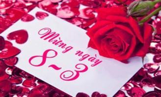 Giành những Stt, những lời chúc 8-3 lãng mạn nhất dải ngân hà cho cô gái của bạn nhé