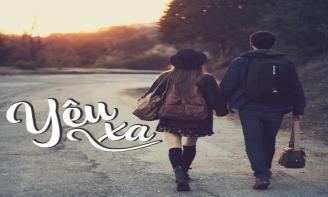 Status viết cho những cặp đôi yêu xa Khó khăn lắm để yêu xa