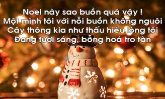 Giáng sinh về, người tay trong tay còn tôi vẫn thui thủi một mình