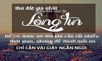 STT muốn tình yêu lâu dài thì hãy trao cho nhau niềm tin