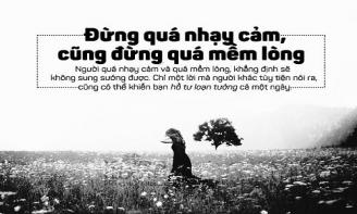Hết yêu thì chia tay, mà đã chia tay thì đừng mềm lòng cô gái nhé