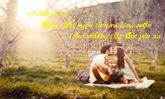 Những stt đậm chất ngôn tình và lãng mạng cho những cặp đôi yêu xa