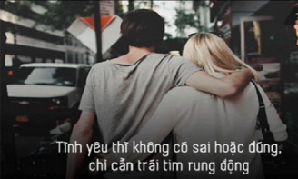 Trong tình yêu, không ai đúng ai sai, không ai được rất nhiều và không ai mất tất cả