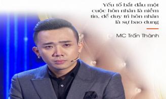Những câu nói đầy tan chảy về tình yêu của MC Trấn Thành