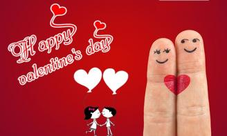 Valentine đỏ, valentine đen, valentine trắng