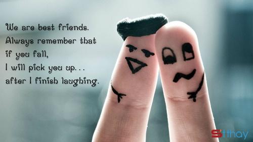 Bạn thân, thật may mắn khi tôi có bạn, cảm ơn nhé!